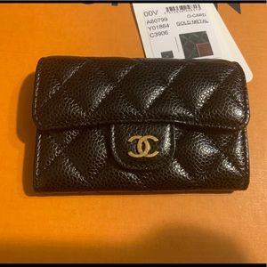 Chanel card holder.